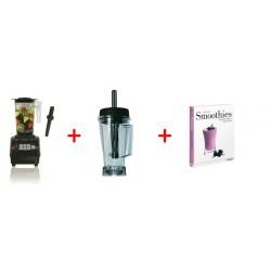 Specialtilbud: JTC TM-800A OmniBlend V + 2 l Kande (BPA Fri) + Smoothies bog