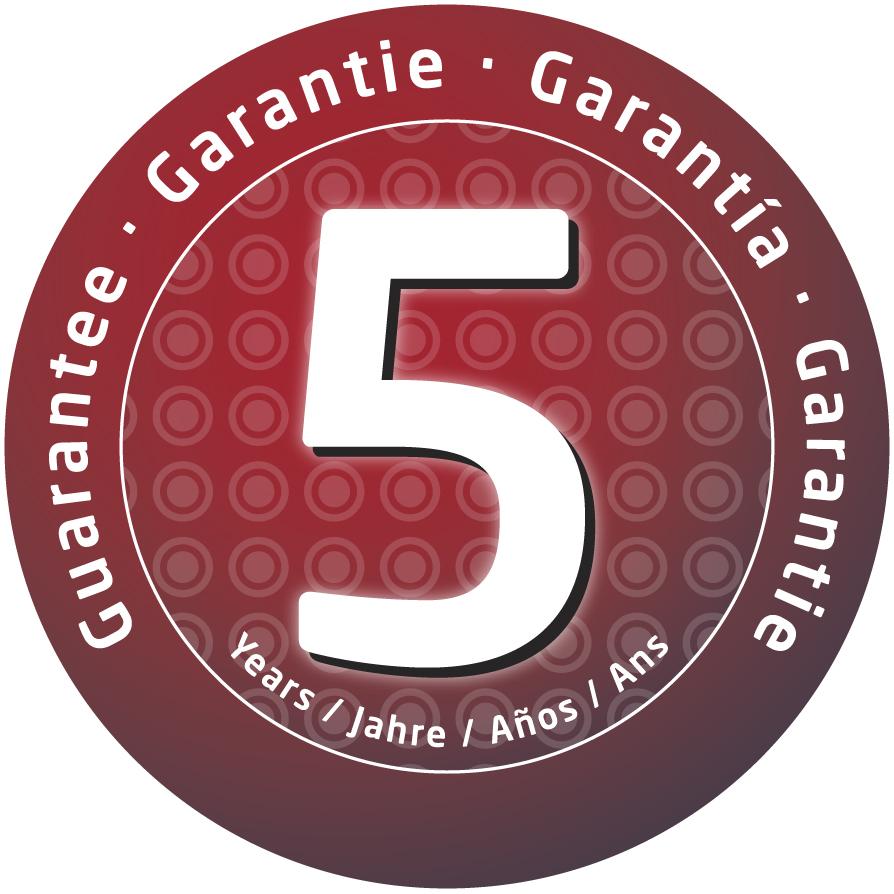 5 Års Garanti